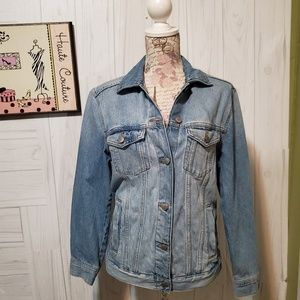 Divided by h&m vintage style trucker jacket size 4